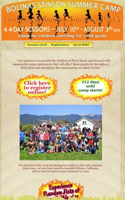 Bolinas Stinson Summer Camp