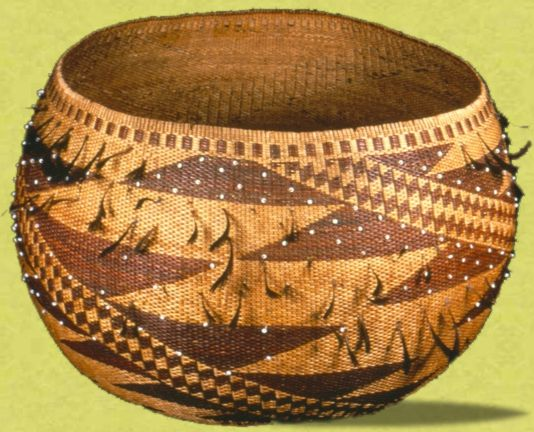 Pomo Basket from the State Parks collection
